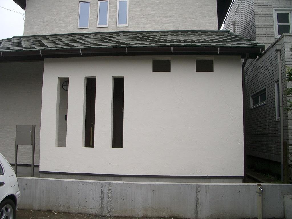 自然素材のあたたかい家
