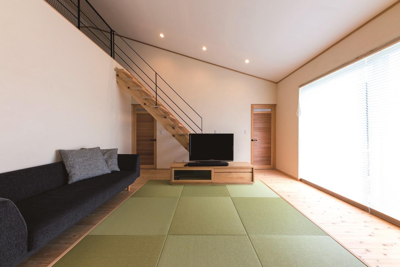 空気が贅沢な家